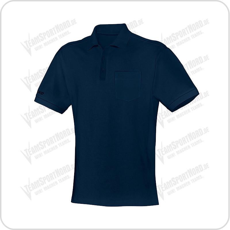 Jako Team Poloshirt mit Brusttasche