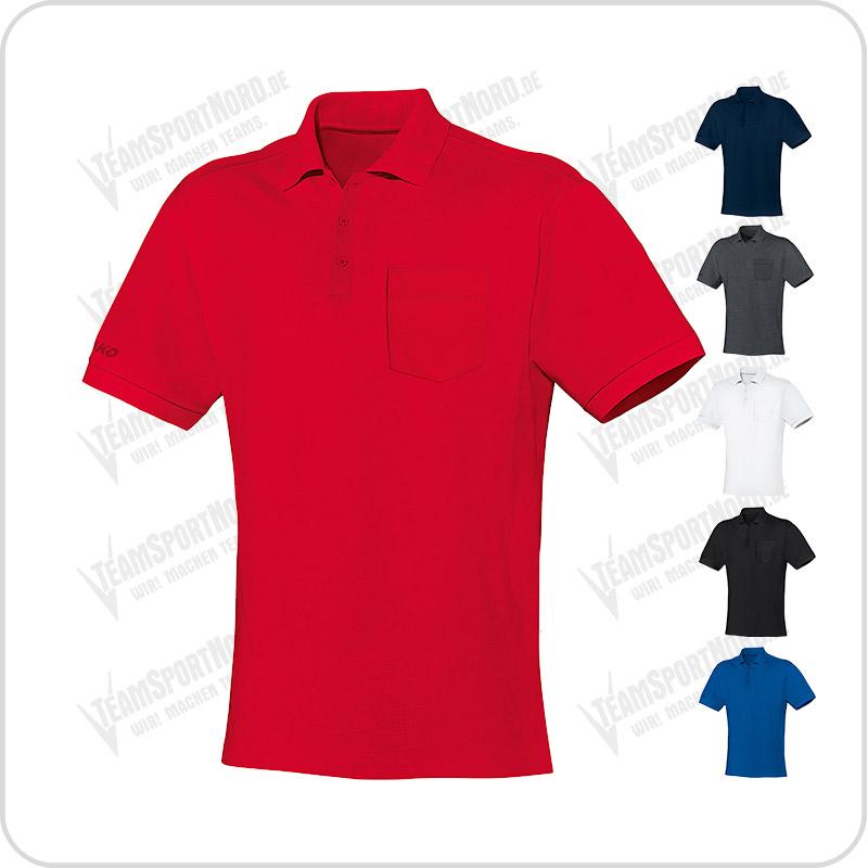 Team Poloshirt Mit Brusttasche